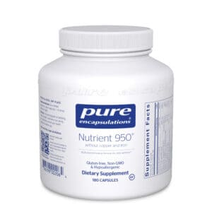 Nutrient 950 without Copper Iron and Iodine 180ct by Pure Encapsulations