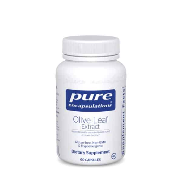 Olive Leaf extract 60ct by Pure Encapsulations