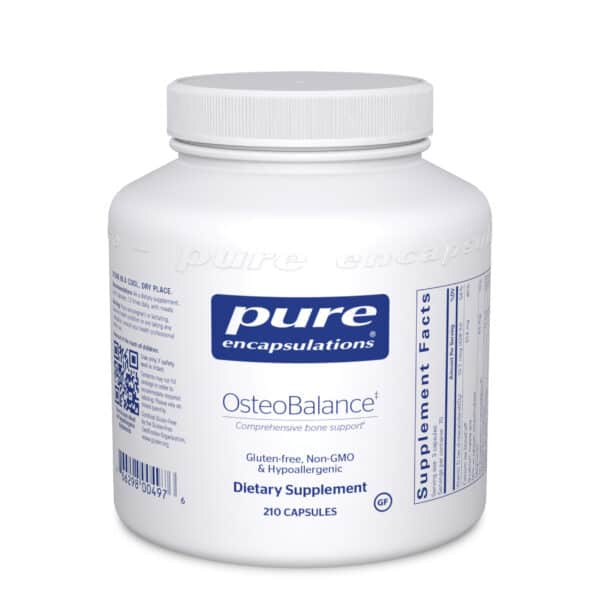 OsteoBalance 210ct by Pure Encapsulations
