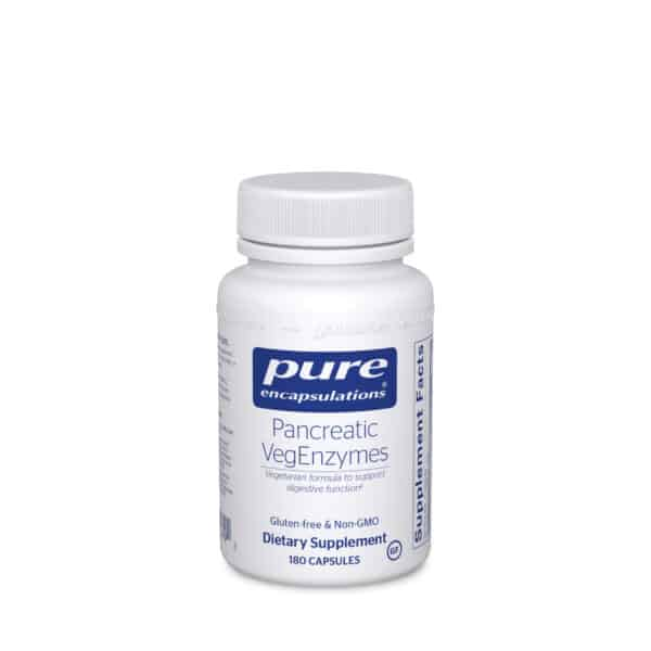 Pancreatic VegEnzymes 180ct by Pure Encapsulations