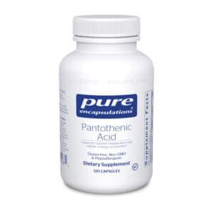 Pantothenic Acid 120ct by Pure Encapsulations