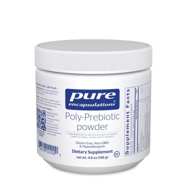 Poly-Prebiotic powder 138 g by Pure Encapsulations