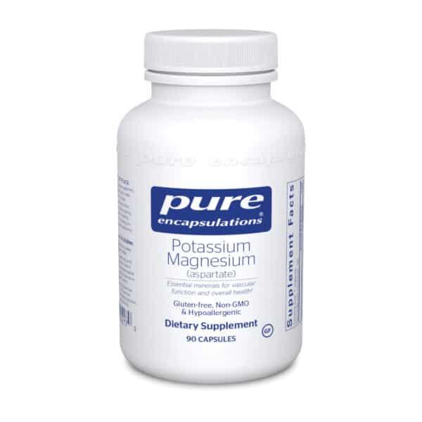 Potassium Magnesium aspartate 90ct by Pure Encapsulations