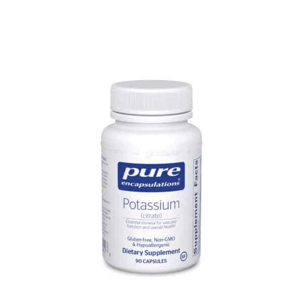 Potassium citrate 90ct by Pure Encapsulations