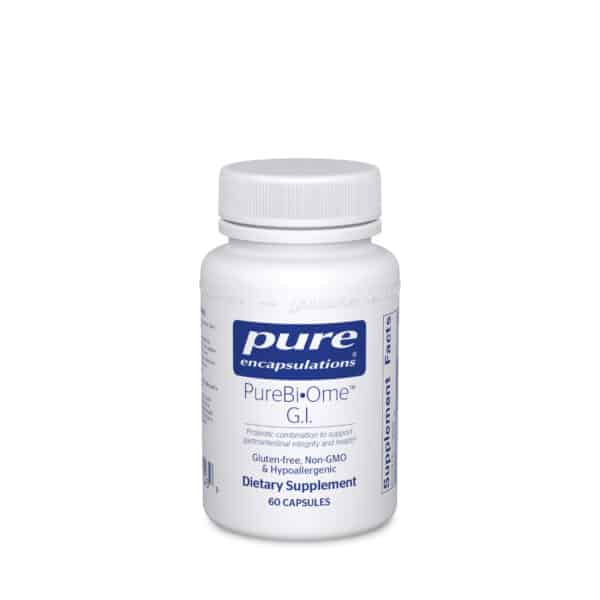 PureBi•Ome G.I. 60ct by Pure Encapsulations