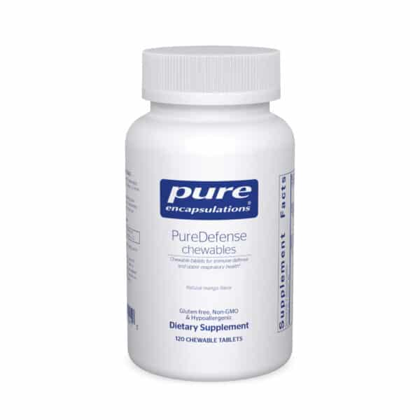 PureDefense chewables 120ct by Pure Encapsulations