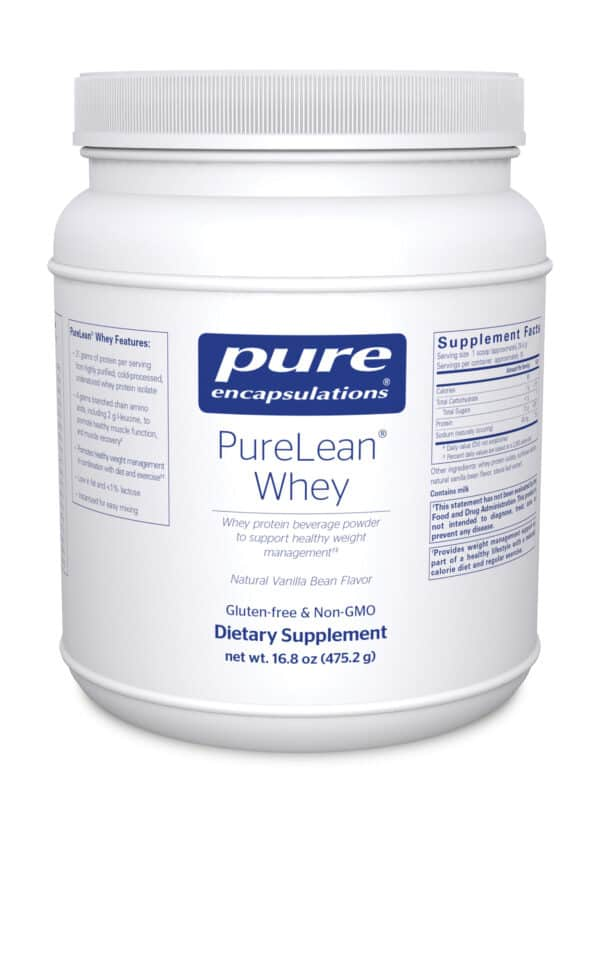 PureLean Whey 475.2 g by Pure Encapsulations