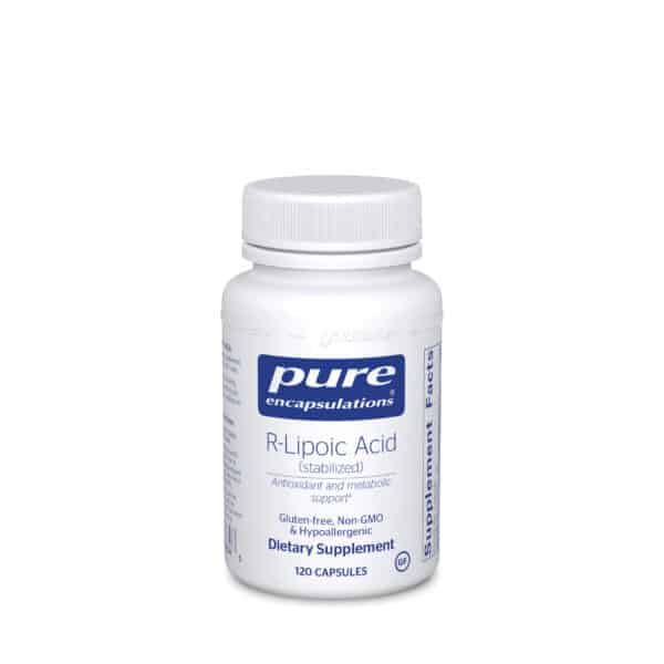 R-Lipoic Acid (stabilized) 120ct by Pure Encapsulations