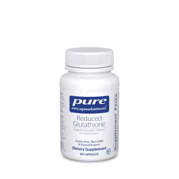 Reduced Glutathione 60ct by Pure Encapsulations