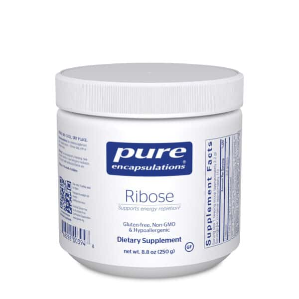 Ribose Powder 250 g by Pure Encapsulations