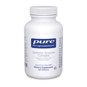 Systemic Enzyme Complex 180ct by Pure Encapsulations
