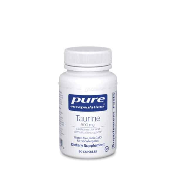Taurine 500 mg by Pure Encapsulations