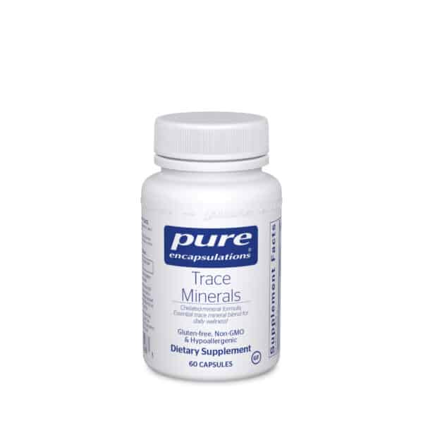 Trace Minerals 60ct by Pure Encapsulations