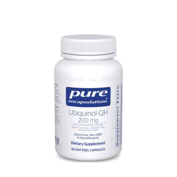 Ubiquinol-QH 200 mg by Pure Encapsulations