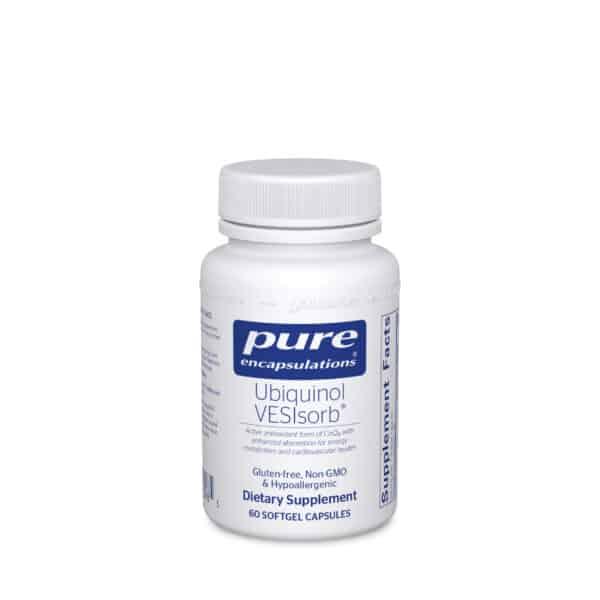 Ubiquinol VESIsorb 60ct by Pure Encapsulations