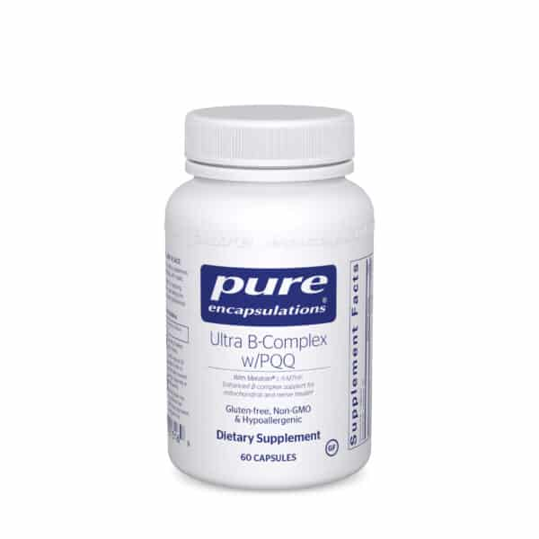 Ultra B-Complex w/PQQ 60ct by Pure Encapsulations