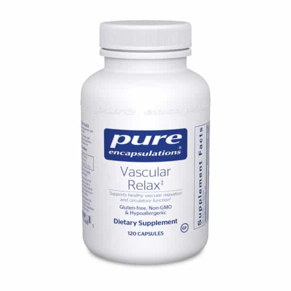 Vascular Relax 120ct by Pure Encapsulations