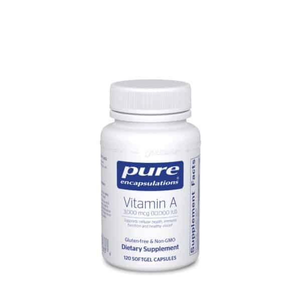 Vitamin A 3000 mcg 120ct by Pure Encapsulations