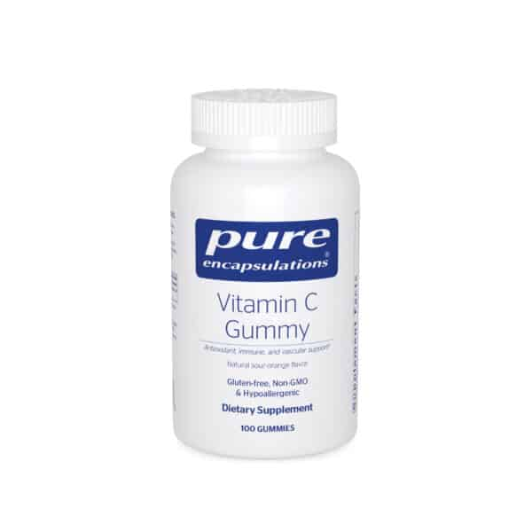 Vitamin C Gummy 100ct by Pure Encapsulations