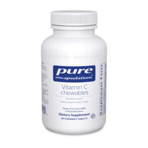 Vitamin C chewables 60ct by Pure Encapsulations