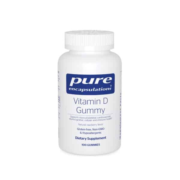 Vitamin D Gummy 100ct by Pure Encapsulations