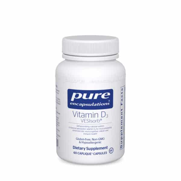Vitamin D3 VESIsorb 60ct by Pure Encapsulations