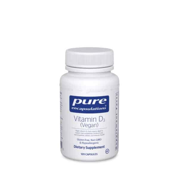Vitamin D3 (Vegan) 120ct by Pure Encapsulations