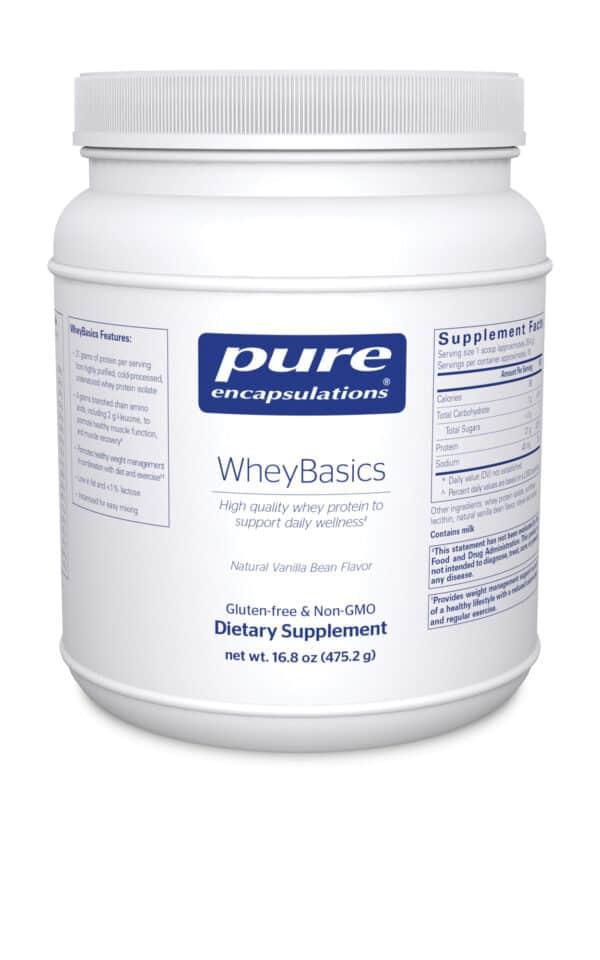 WheyBasics 475.2 g by Pure Encapsulations