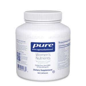 Women's Nutrients 180ct by Pure Encapsulations