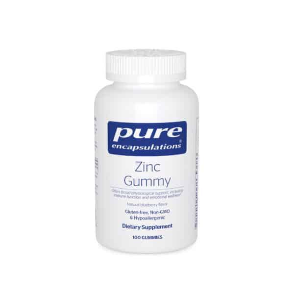 Zinc Gummy 100ct by Pure Encapsulations