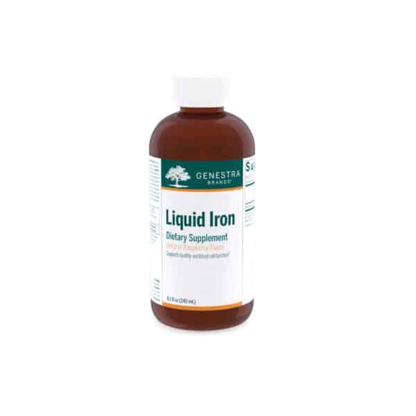 Liquid Iron 8.1 fl oz by Genestra Brands